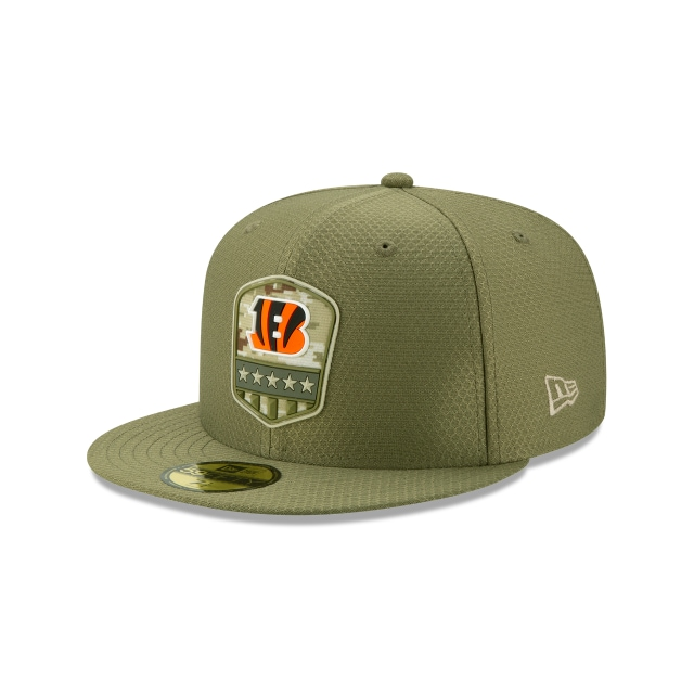 Cincinnati Bengals Nfl Salute To Service 2019  59fifty Cerrada | New Era Cap