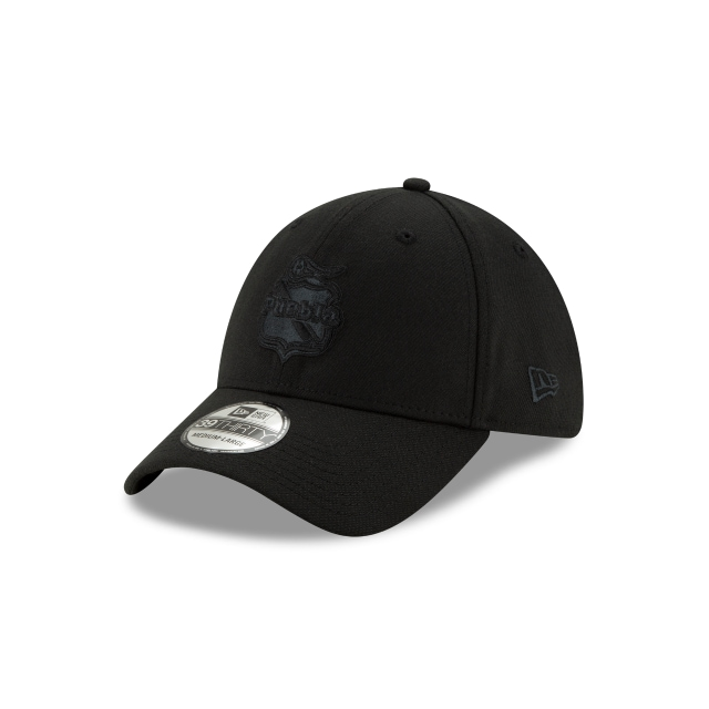 Puebla Basics Black On Black  39thirty Elástica | New Era Cap