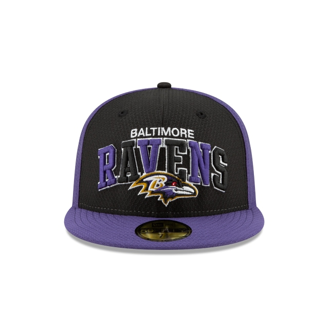 Baltimore Ravens NFL Sideline Established Home  59FIFTY Cerrada | Gorras de Baltimore Ravens | New Era México