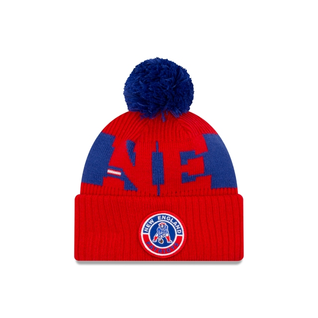 New England Patriots NFL Cold Weather  Knit | Gorras de New England Patriots | New Era México