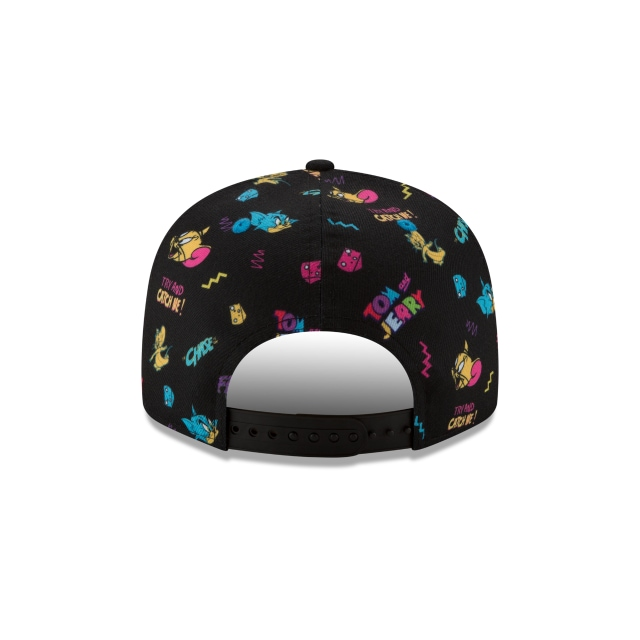Tom & Jerry Power Couples  9fifty Snapback | Pwrcouple 950scatter Caps | New Era Cap