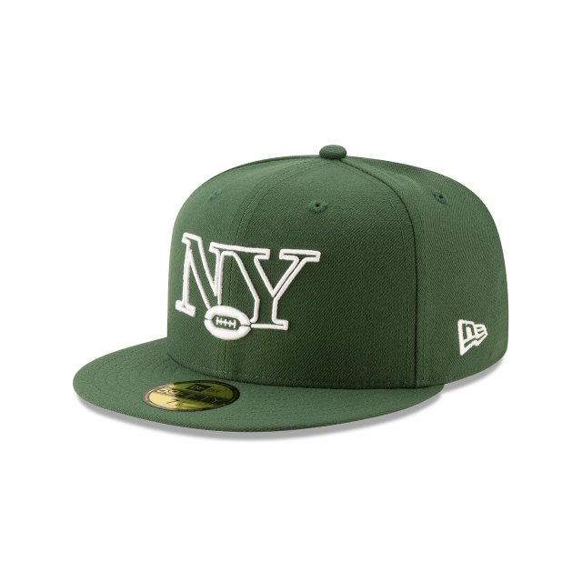 New York Jets Nfl Logo Elements 1.0  59fifty Cerrada | New Era Cap