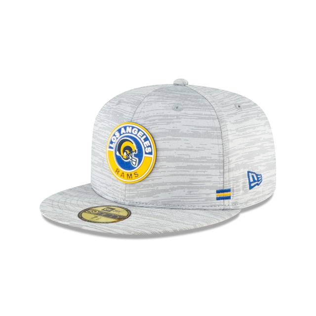 Los Angeles Rams NFL Sideline  59FIFTY Cerrada | Gorras de Los Angeles Rams | New Era México