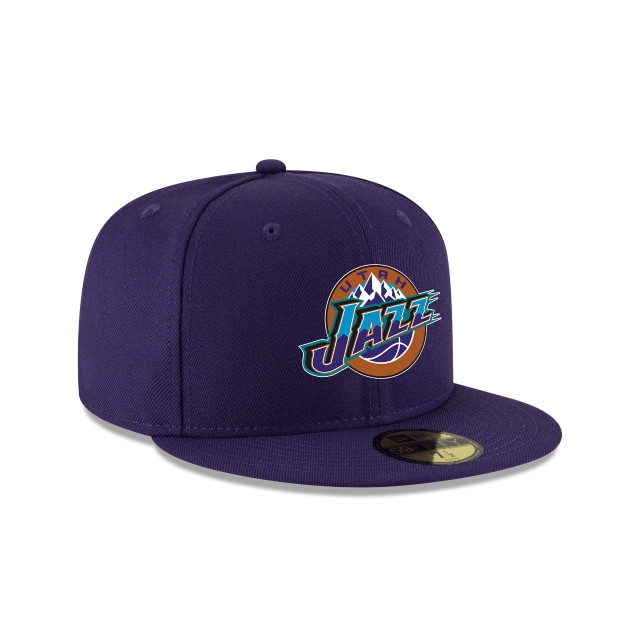 Utah Jazz Nba Hardwood Classics  59fifty Cerrada | Utah Jazz Caps | New Era Cap