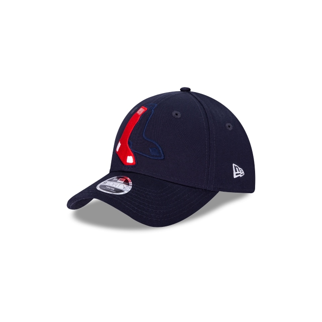 Boston Red Sox Mlb Logo Elements De Niño 9forty Strapback | New Era Cap
