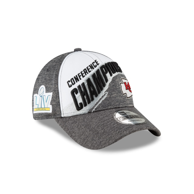 Kansas City Chiefs Conference Champions Official Locker Room 9FORTY | Gorras de Kansas City Chiefs | New Era México