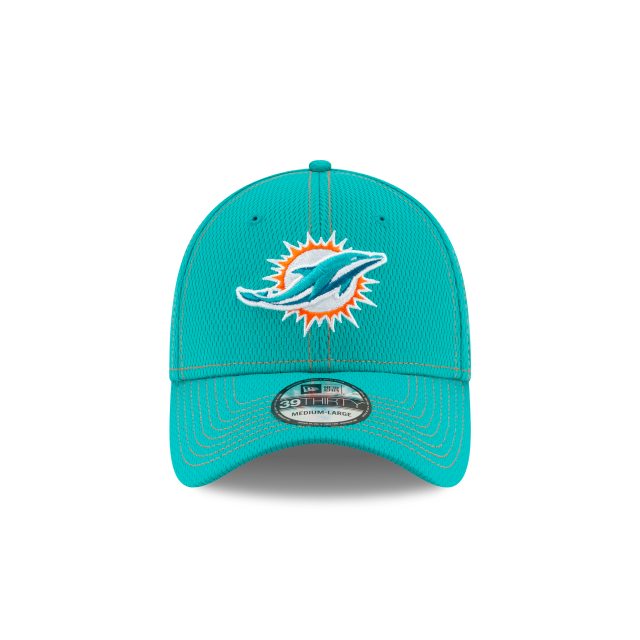 Miami Dolphins Nfl Sideline Established Road  39thirty Elástica | Miami Dolphins Caps | New Era Cap
