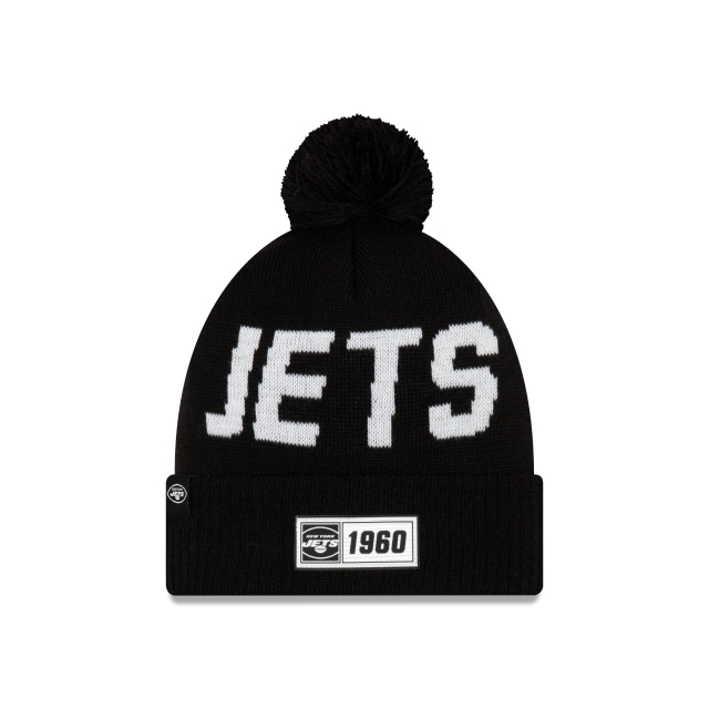 New York Jets Nfl Cold Weather 2019  Knit | New Era Cap