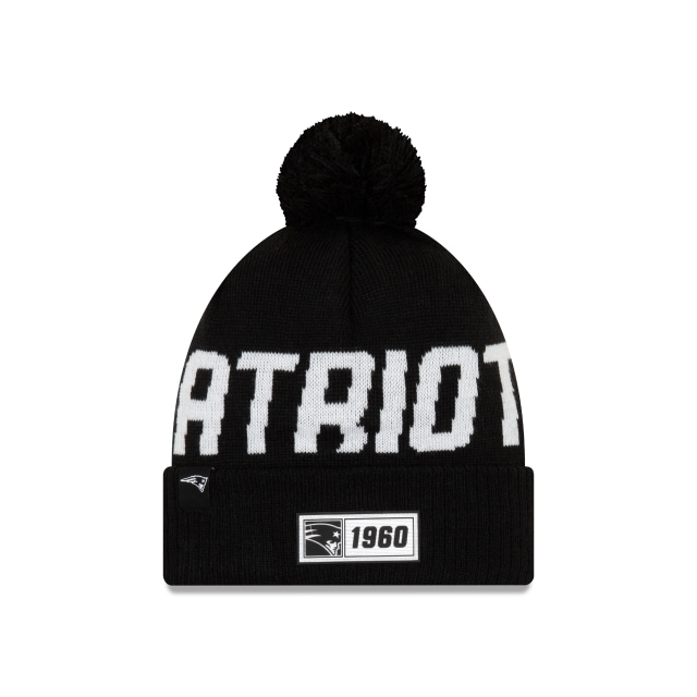 New England Patriots Nfl Cold Weather 2019  Knit | New Era Cap