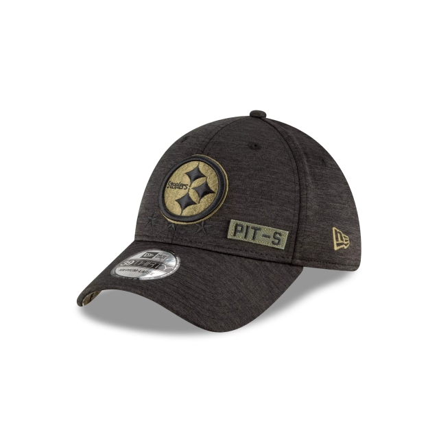 Pittsburgh Steelers NFL Salute To Service 2020  39THIRTY Elástica | Gorras de Pittsburgh Steelers | New Era México