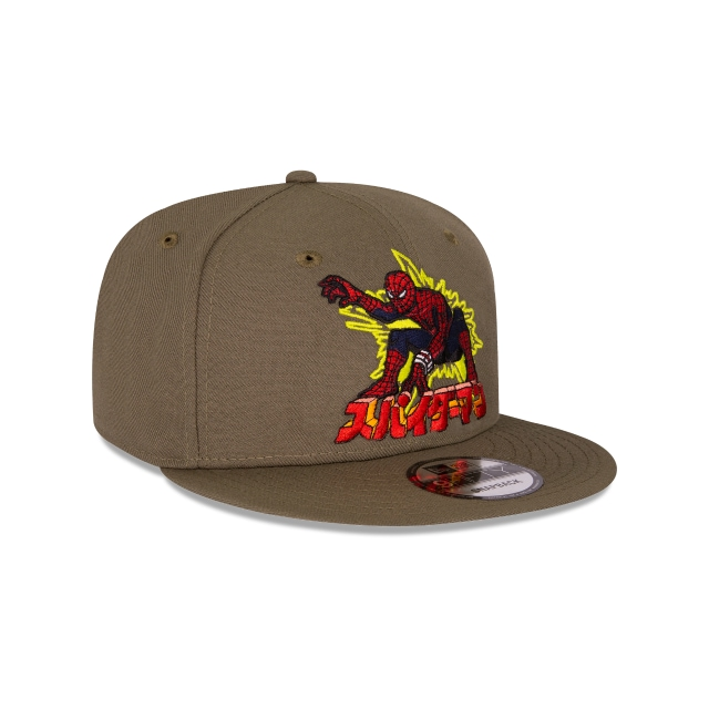 Spiderman Marvel 80 Aniversario  9fifty Snapback | Cus 9fifty Snap Caps | New Era Cap