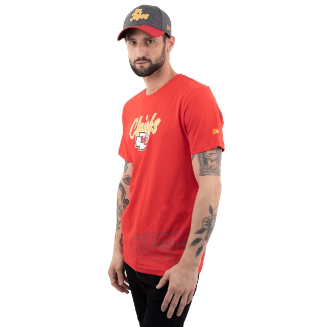 Playera Manga Corta Kansas City Chiefs 100% Algodón | Kansas City Chiefs NFL Core | New Era México