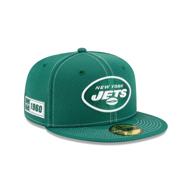 New York Jets NFL Sideline Established Road  59FIFTY Cerrada | Gorras de New York Jets | New Era México