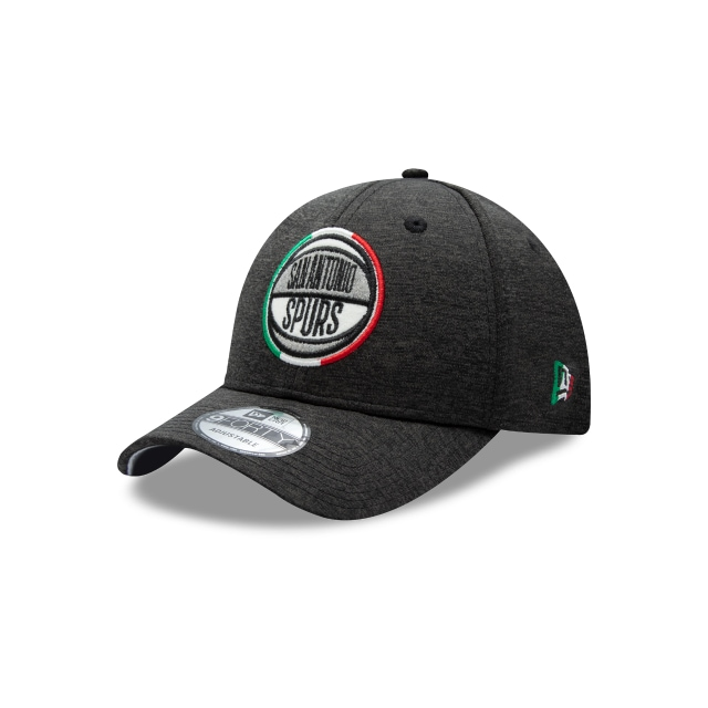 San Antonio Spurs Nba Mexico City Games 2019  9forty Strapback | San Antonio Spurs Caps | New Era Cap