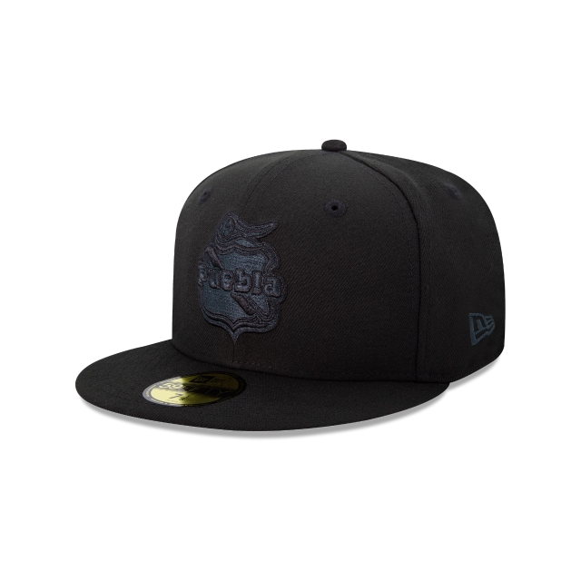Puebla Basics Black On Black  59fifty Cerrada | New Era Cap