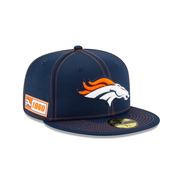 Denver Broncos Nfl Sideline Established Road  59fifty Cerrada | New Era Cap