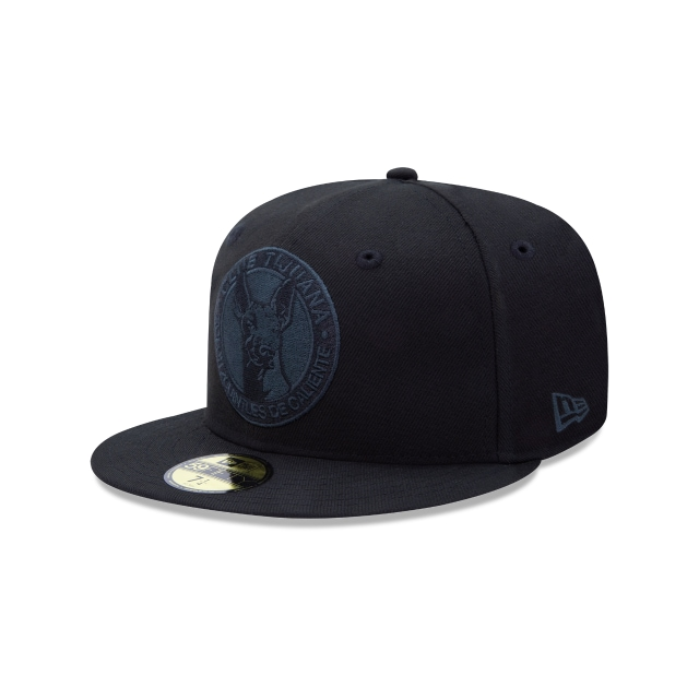 Xolos De Tijuana Basics Black On Black  59fifty Cerrada | New Era Cap
