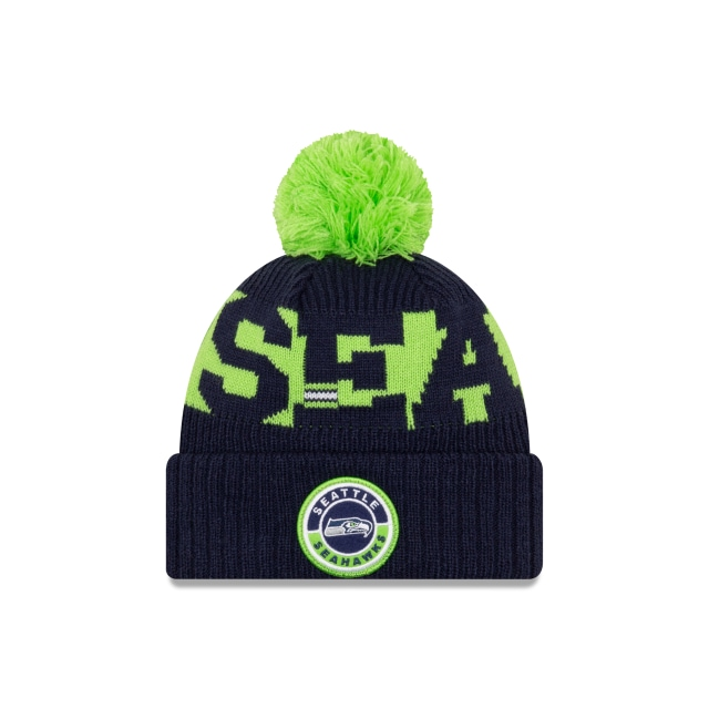 Seattle Seahawks NFL Cold Weather  Knit | Gorras de Seattle Seahawks | New Era México