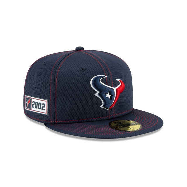 Houston Texans Nfl Sideline Established Road  59fifty Cerrada | New Era Cap