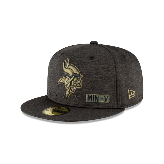 Minnesota Vikings NFL Salute To Service 2020  59FIFTY Cerrada | Gorras de Minnesota Vikings | New Era México