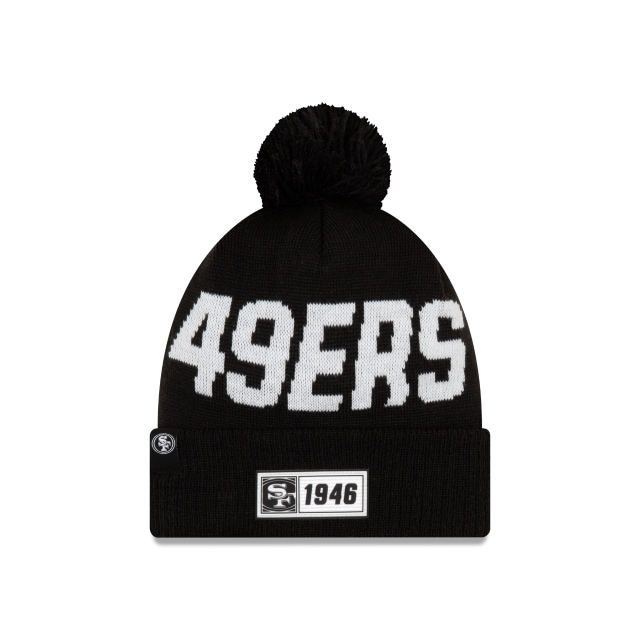 San Francisco 49ers Nfl Cold Weather 2019  Knit | New Era Cap