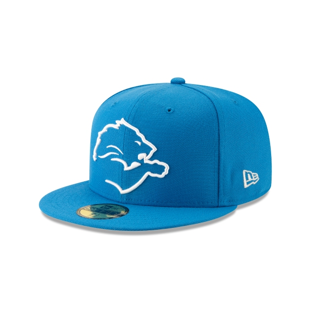 Detroit Lions Nfl Logo Elements 1.0  59fifty Cerrada | New Era Cap