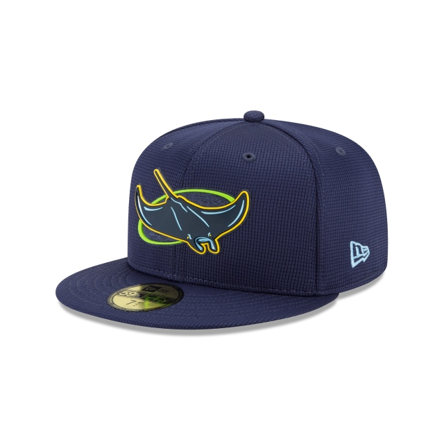Tampa Bay Rays Mlb Clubhouse 2020  59fifty Cerrada | Tampa Bay Rays Caps | New Era Cap