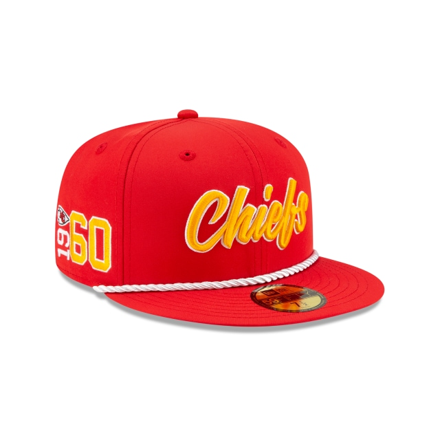 Kansas City Chiefs Nfl Sideline Established Home  59fifty Cerrada | New Era Cap