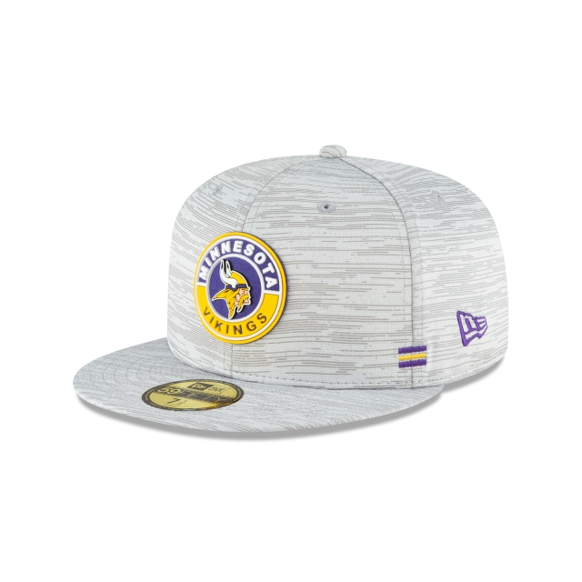 Minnesota Vikings NFL Sideline  59FIFTY Cerrada | Gorras de Minnesota Vikings | New Era México