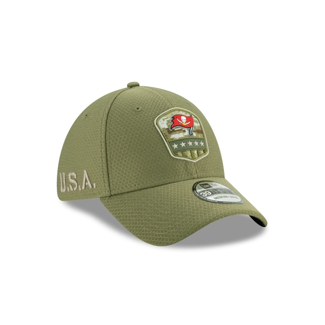 Tampa Bay Buccaneers Nfl Salute To Service 2019  39thirty Elástica | Tampa Bay Buccaneers Caps | New Era Cap