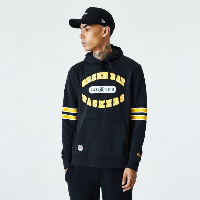 Sudadera Green Bay Packers | Green Bay Packers NFL Wordmark Graphic | New Era México