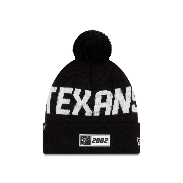 Houston Texans Nfl Cold Weather 2019  Knit | New Era Cap