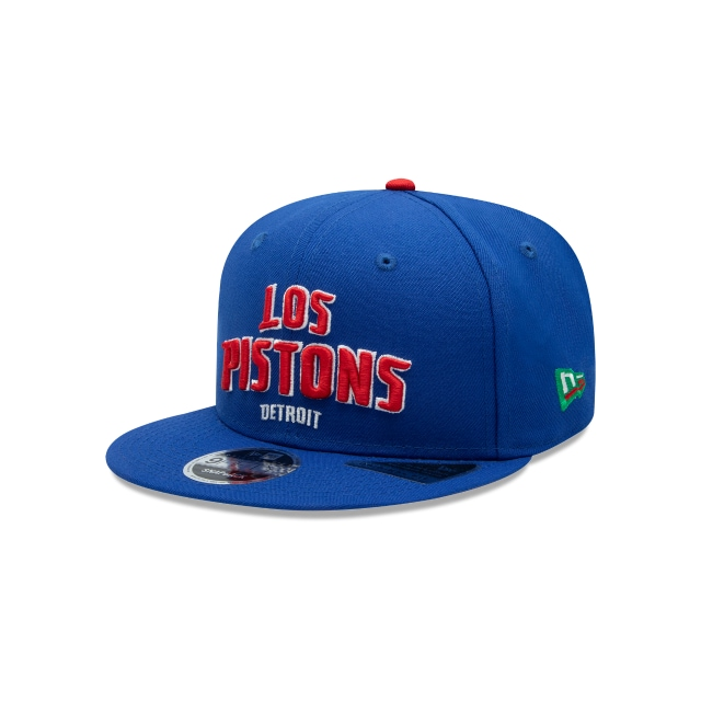 Detroit Pistons Nba Mexico City Games 2019  9fifty Snapback | New Era Cap