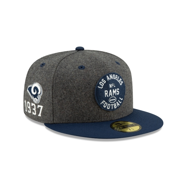 Los Angeles Rams Nfl Sideline Established Home  59fifty Cerrada | New Era Cap