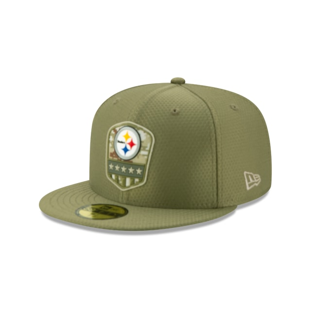 Pittsburgh Steelers Nfl Salute To Service 2019  59fifty Cerrada | New Era Cap