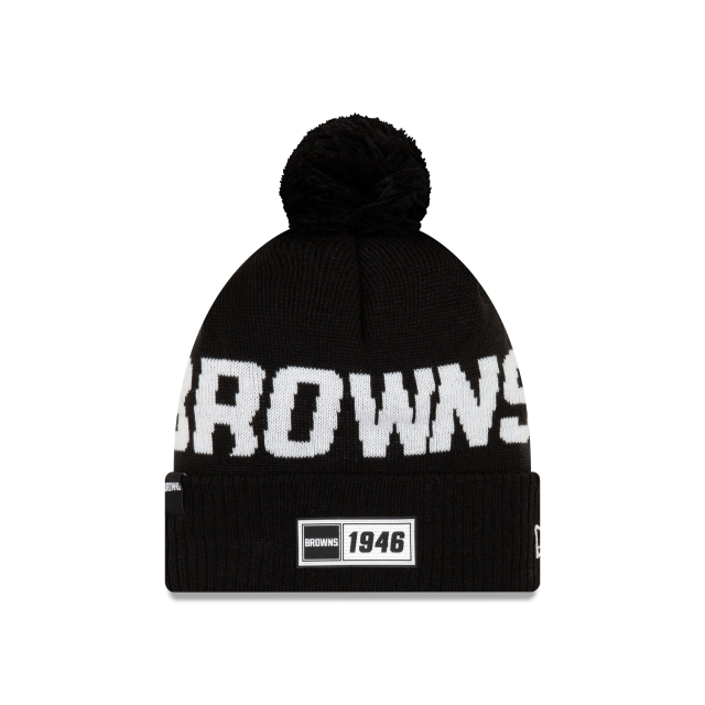 Cleveland Browns Nfl Cold Weather 2019  Knit | New Era Cap