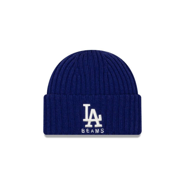 Los Angeles Dodgers MLB Beams  Knit | Gorras de Los Angeles Dodgers | New Era México