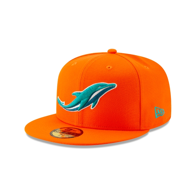 Miami Dolphins Nfl Logo Elements 1.0  59fifty Cerrada | New Era Cap