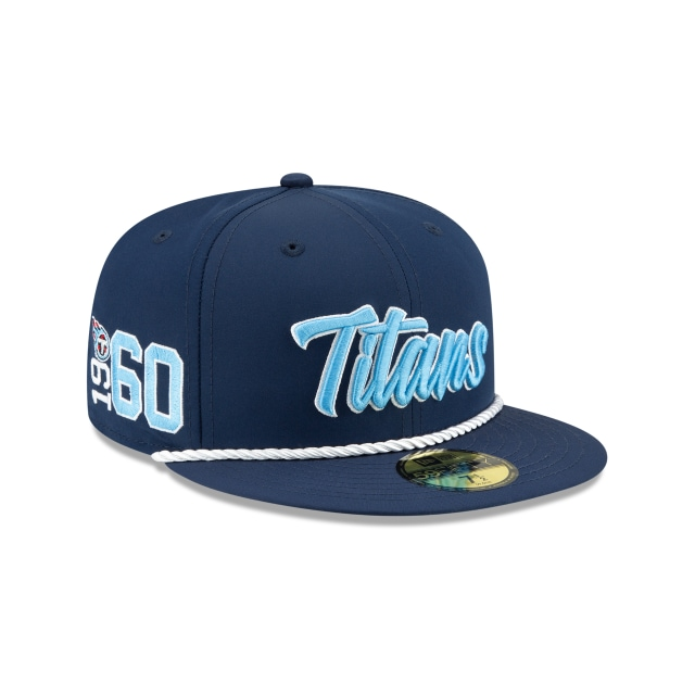 Tennessee Titans Nfl Sideline Established Home  59fifty Cerrada | New Era Cap