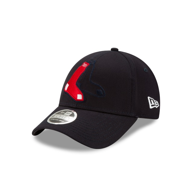 Boston Red Sox Mlb Logo Elements  9forty Strapback | New Era Cap