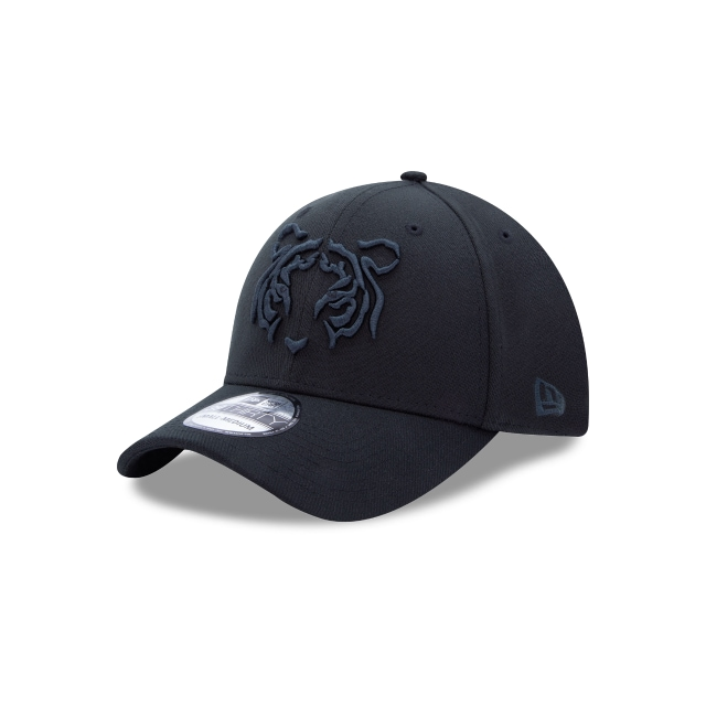 Tigres De La Uanl Basics Black On Black  39thirty Elástica | New Era Cap
