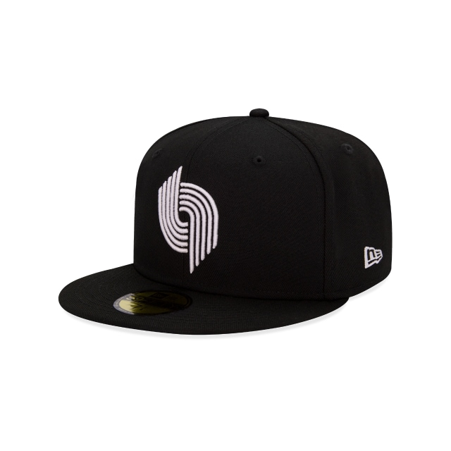 Portland Trailblazers Nba Hardwood Classics  59fifty Cerrada | New Era Cap