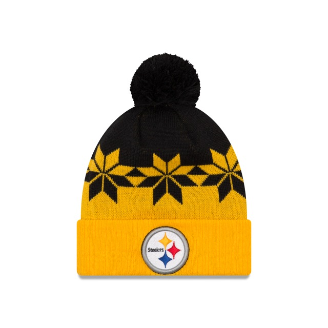 Pittsburgh Steelers Cold Weather  Knit | Gorras de Pittsburgh Steelers | New Era México
