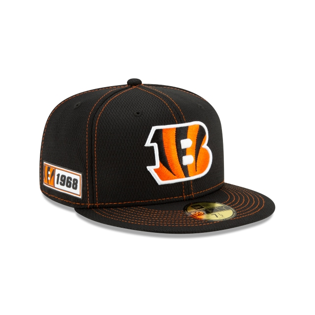 Cincinnati Bengals Nfl Sideline Established Road  59fifty Cerrada | New Era Cap