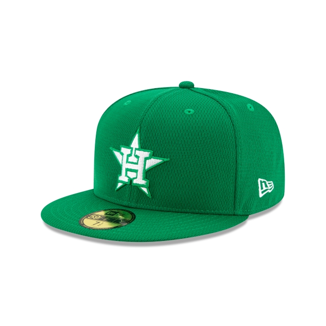 Houston Astros St. Patrick's Day Mlb Batting Practice 2020  59fifty Cerrada | New Era Cap