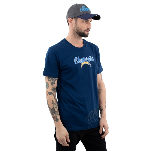 Los Angeles Chargers Nfl Mexico Game 2019  Playera Manga Corta | Los Angeles Chargers Caps | New Era Cap
