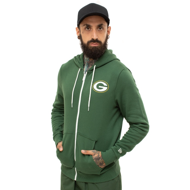 Green Bay Packers Large Graphic Sudadera | New Era Cap