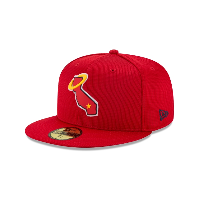 Los Angeles Angels Mlb Clubhouse 2020  59fifty Cerrada | Los Angeles Angels Caps | New Era Cap