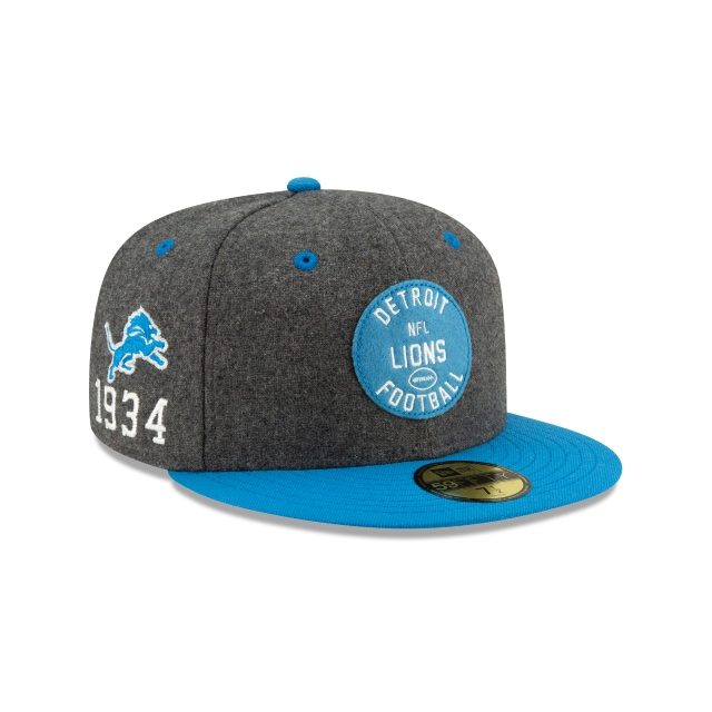 Detroit Lions NFL Sideline Established Home  59FIFTY Cerrada | Gorras de Detroit Lions | New Era México