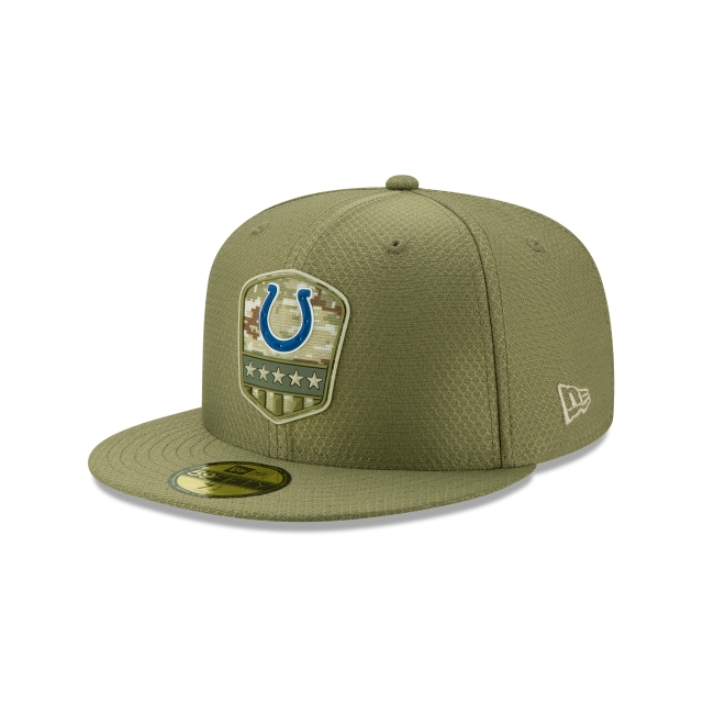 Indianapolis Colts Nfl Salute To Service 2019  59fifty Cerrada | New Era Cap